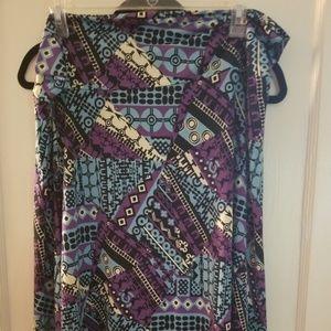 3xl Azure skirt, lularoe